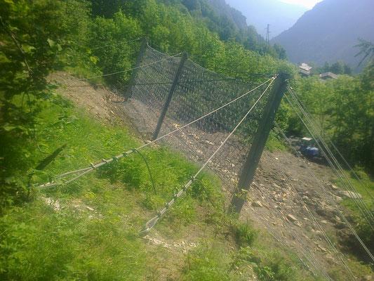 Barriera paramassi - Piemonte CN