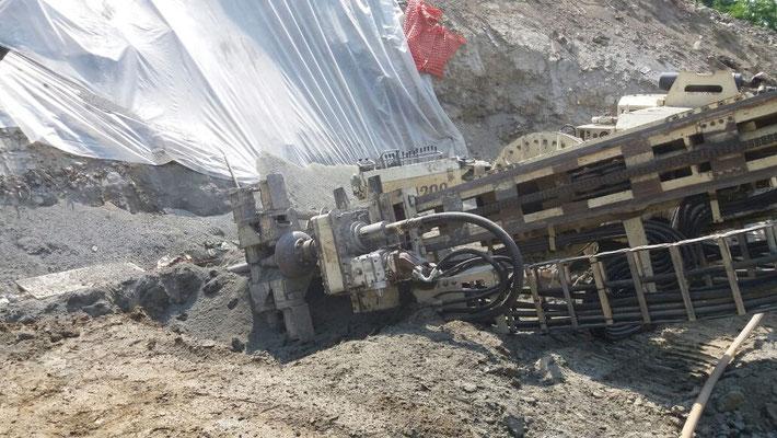 Berlinese di contenimento per fronte di scavo - Piemonte - CN