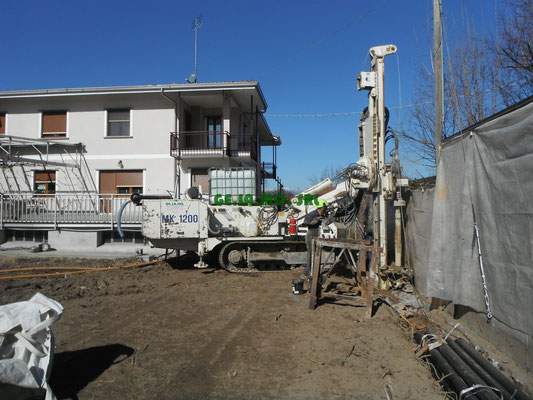 Berlinese di contenimento con micropali per permettere scavi in sicurezza