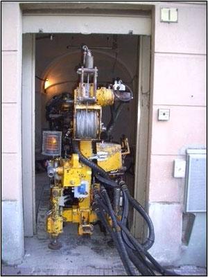 Perforazione in ambienti angusti - spazi confinati - Piemonte - Provincia di Cuneo