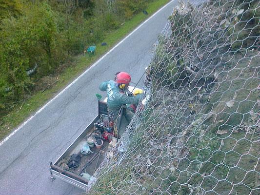 Disgaggi e messa in sicurezza pareti rocciose - Piemonte CN