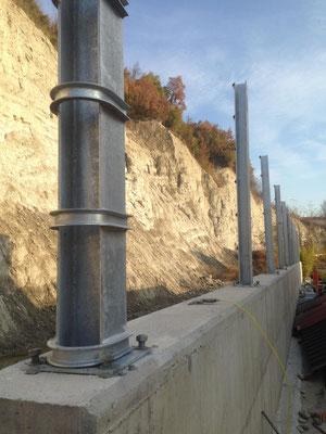 Installazione di barriera paramassi statica - Piemonte - Provincia di Cuneo