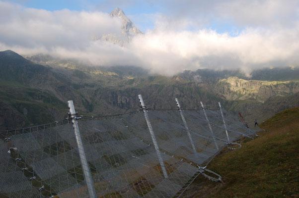 Barriera fermaneve (paravalanghe) - Piemonte CN