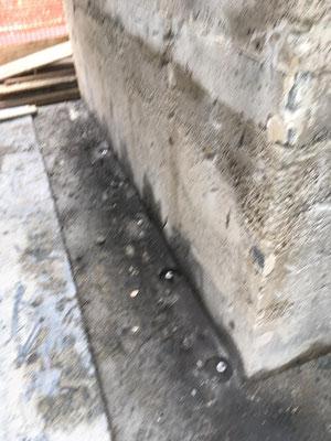 Realizzazione fondazione con barre a perdere e iniezione di malte speciali a pressione controllate