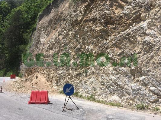 Manutenzioni e svuotamenti reti paramassi - Piemonte CN