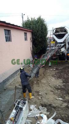 Consolidamenti - micropali per berlinese a sostegno di fronte di scavo (CN)