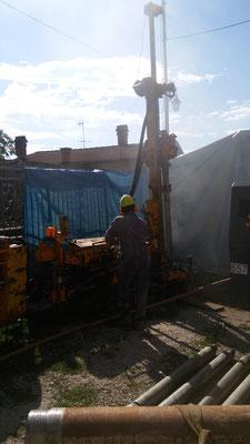 Perforazione per realizzare pozzo di 15 mt di profondità ad uso agricolo - Piemonte - Provincia di Cuneo