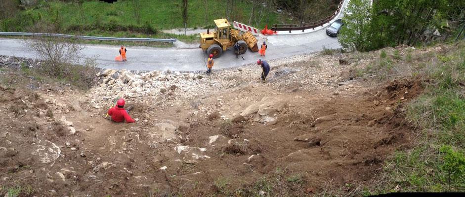 Disgaggio e messa in sicurezza pareti e scarpate - Piemonte - Provincia di Cuneo