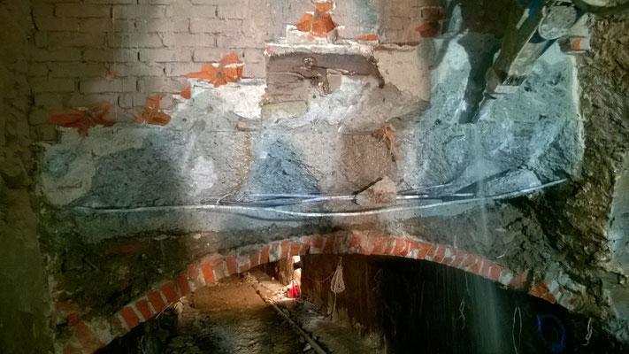 Perforazione ed iniezione ad alta pressione in canale idroelettrico - Piemonte TO