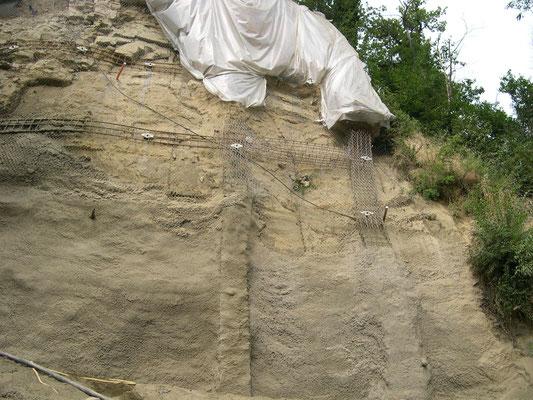 Consolidamento pareti - Esecuzione spritz beton - Piemonte CN