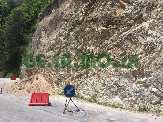 Manutenzioni e svuotamenti reti paramassi - Piemonte - CN