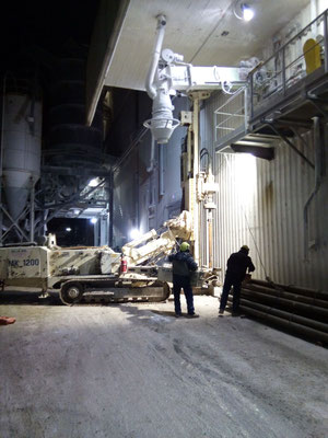 Realizzazione micropali per basamento nuovi silos - Piemonte - CN