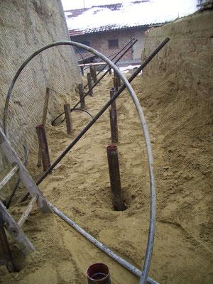 Consolidamento pareti - Realizzazione micropali e tiranti - Piemonte - Provincia di Cuneo