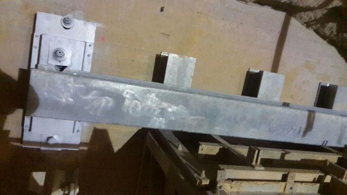 rinforzi strutturali per tramoggia in cemento armato all'interno di impianti di frantumazione - Piemonte CN