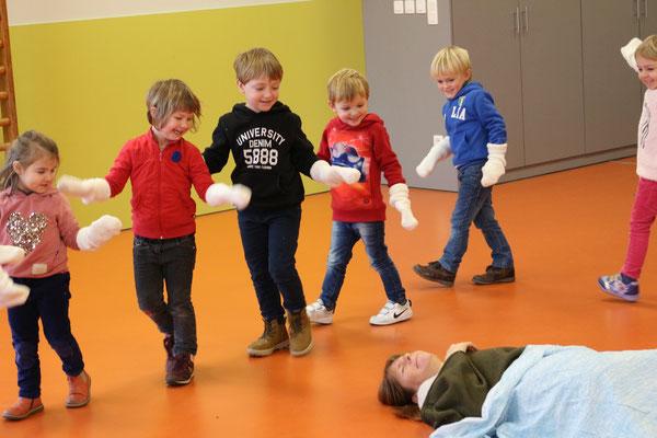 lappie lapstok, kindertheater,  poppentheater, cultuureducatie, kindertheater zeeland, kindertheater vlaanderen, theaterfestival