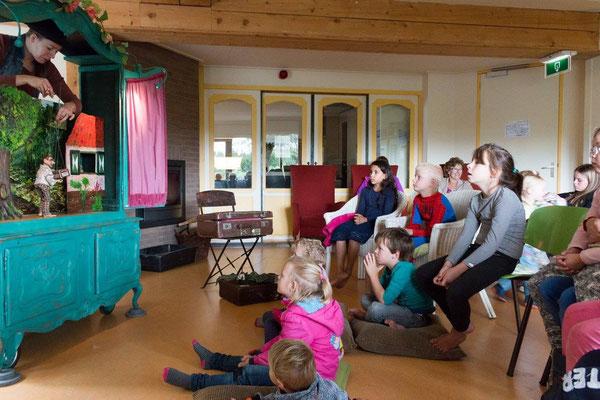 Lappie Lapstok, kinderanimatie, poppentheater, kinderfeestje Brugge