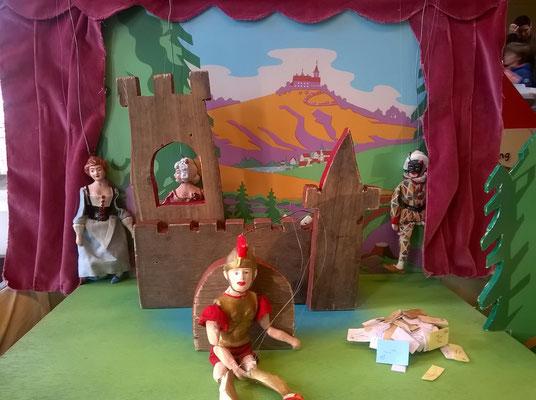 poppentheater, lappie lapstok, kindertheater, marionettentheater, straattehater