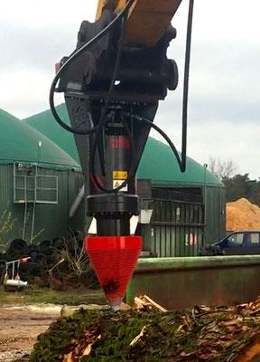 Black Splitter SBX / SBXX / Kegelspalter / Holzspalter / Planetengetriebe / Spalter / Baggerzubehör / Bagger