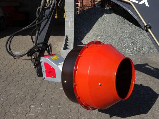 Black Splitter - Mischtrommel Kegelspalter / Holzspalter / Spalter / Baggerzubehör / Bagger