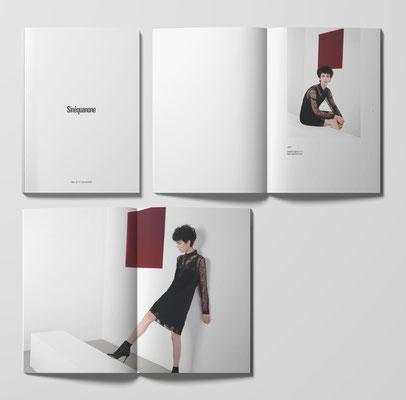 Retouches couleurs avant impression - Catalogue SINEQUANONE - Agence Tiss Info
