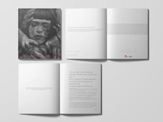 Conception du livre Impression(s) - Hors série Equilibre Fragile - Editions Les Fascinantes