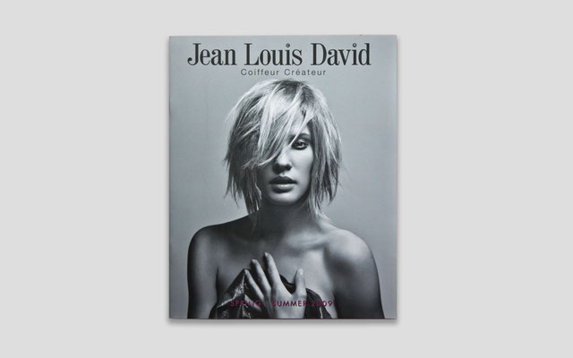 Conception du catalogue JEAN LOUIS DAVID PE09 - D.A. Nora Bordjah