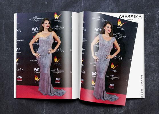 Retouches book press pour la version Moyen-Orient de la marque Messika - Agence Tiss Info