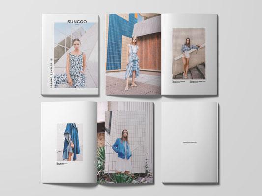 Catalogue et campagne SUNCOO PE18