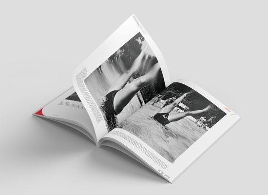Direction artistique du magazine Equilibre Fragile