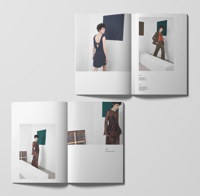 Retouches couleurs avant impression - Catalogue SINEQUANONE - Agence Tiss Info