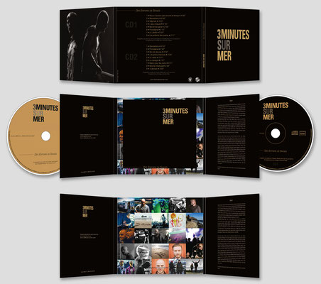 Conception double album du groupe 3 Minutes sur Mer