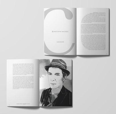 Conception du livre Caractères - Textes de Pierre Lemarchand et divers illustrateurs - Hors série Equilibre Fragile