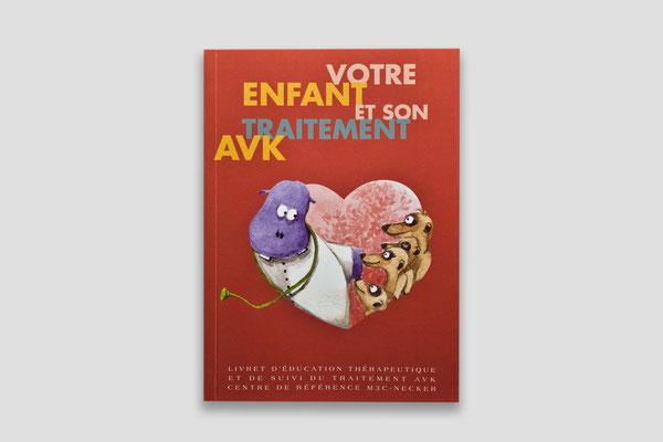 Création du livret AVK - Hôpital Necker Enfants Malades