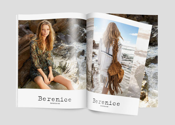 Catalogue et campagne BERENICE PE17 -  Agence Tiss Info