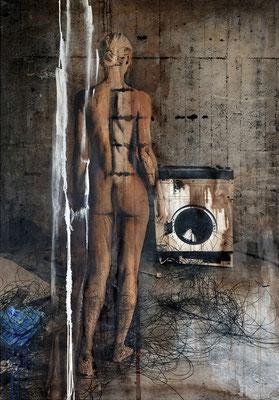 Martina Chardin, Traum oder Realität 05, 140 x 200 cm auf Leinwand