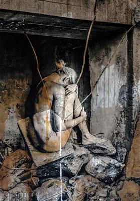 Martina Chardin, Traum oder Realität 02, 140 x 200 cm auf Leinwand