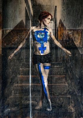 Martina Chardin, Traum oder Realität 06, 140 x 200 cm auf Leinwand