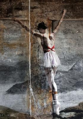 Martina Chardin, Traum oder Realität 03, 140 x 200 cm auf Leinwand