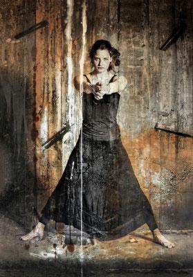 Martina Chardin, Traum oder Realität 01, 140 x 200 cm auf Leinwand
