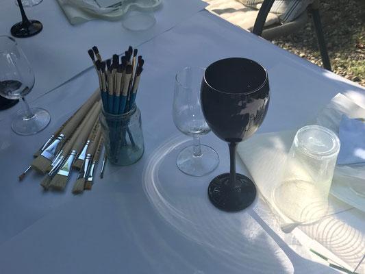 Kunst und Weinsensorik