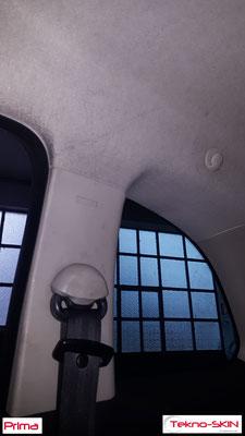 PULIZIA E SANIFICAZIONE FIAT 500  - Smontaggio Sedili Anteriori e Posteriori  - Riparazione Fianchetto Sedile Lato Guida  - Ripellamento Volante  - Pulizia e Sanificazione Completa  - Prima