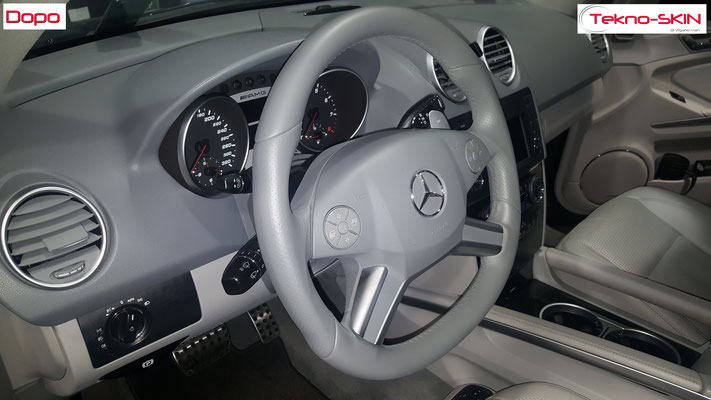 VOLANTE IN PELLE MERCEDES ML63 AMG - Dopo