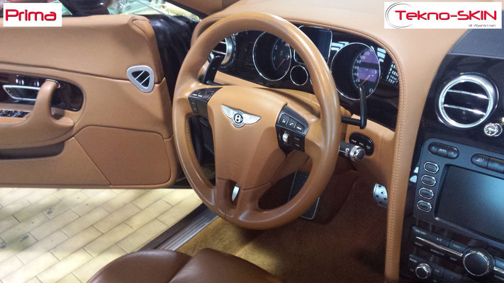 VOLANTE IN PELLE BENTLEY CONTINENTAL GT CABRIO - Prima