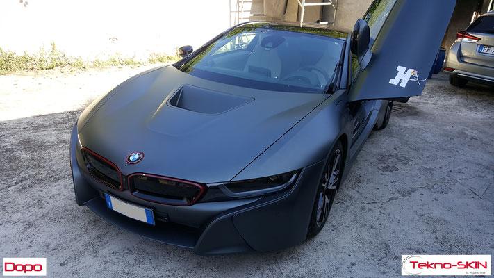 PULIZIA E SANIFICAZIONE BMW i8  - Pulizia e Sanificazione Completa Interni - Dopo