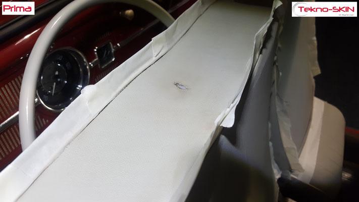 PULIZIA E SANIFICAZIONE INTERNI VW MAGGIOLINO DEL'63 - Prima