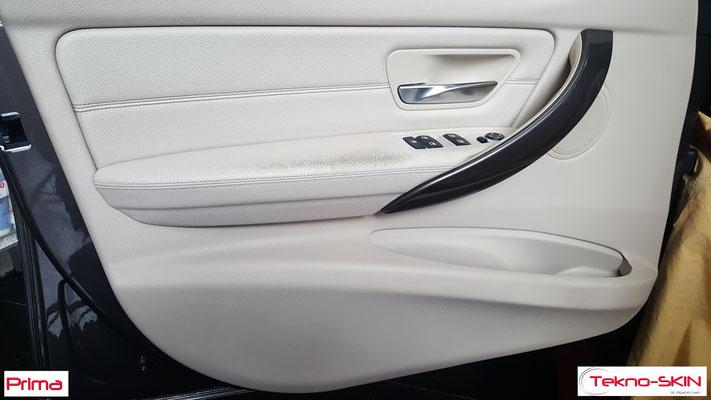 PANNELLO BMW 320d - Ristrutturazione Superficie Bracciolo - Prima