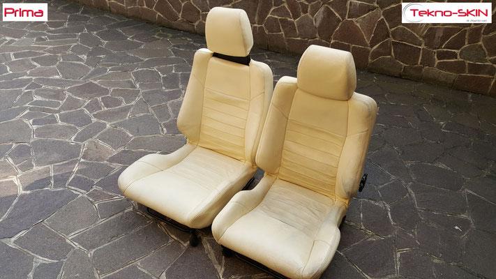 RISTRUTTURAZIONE INTERNI LOTUS ESPRIT S4  Ristrutturazione interni Lotus Esprit S4 con colorazione a campione - Prima