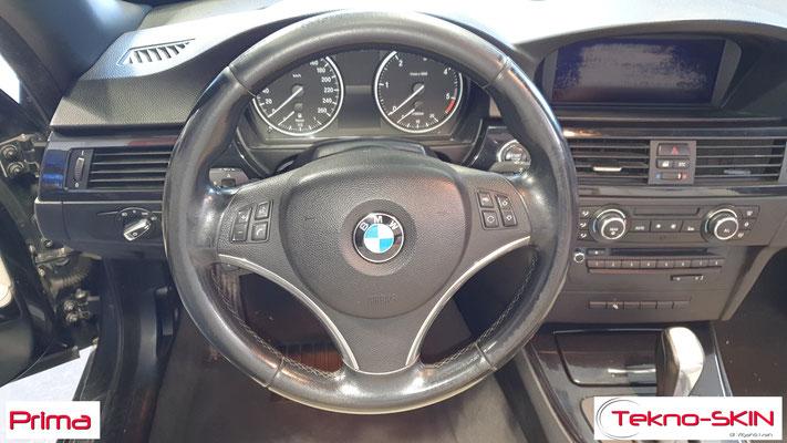 PULIZIA E SANIFICAZIONE BMW 320 CABRIO - Prima