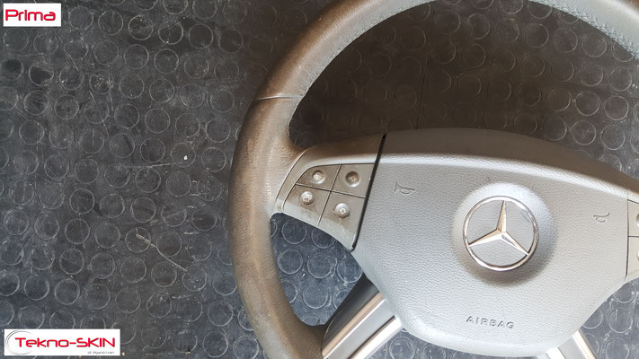 VOLANTE IN PELLE MERCEDES ML - Prima