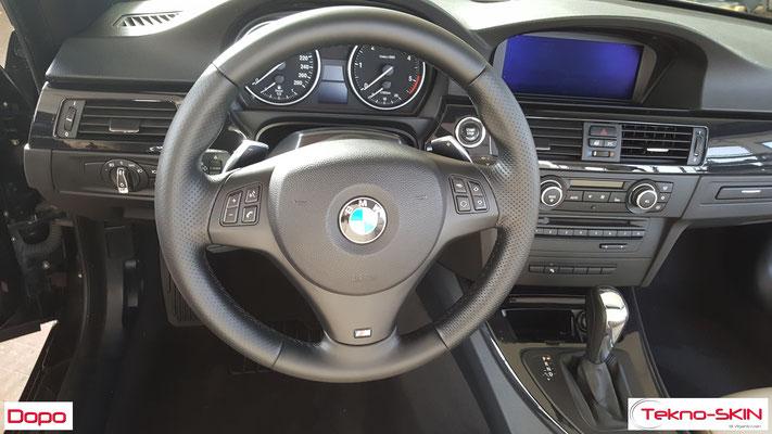 VOLANTE IN PELLE BMW 325d - Dopo